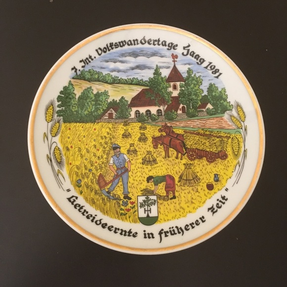 Other - German Kahla Plate ca 1981